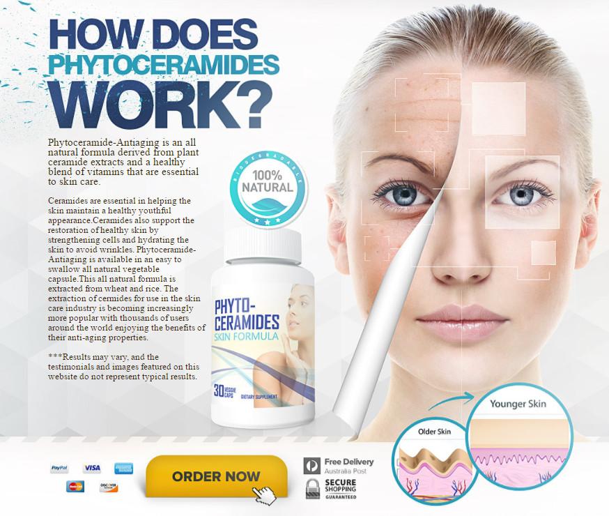 10 Cara Menghilangkan Flek Hitam Di Wajah Secara Alami: Cara Kerja Phytoceramides Menghilangkan Kerutan Wajah